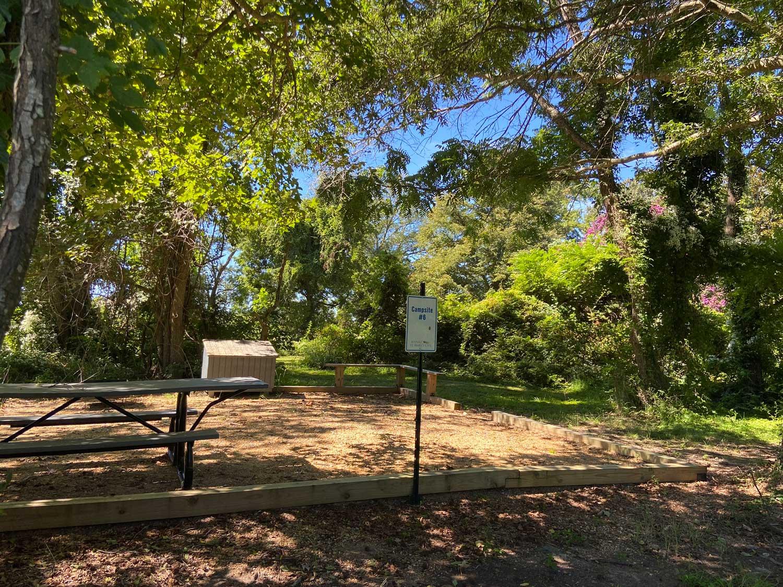 Primitive Campsites - Chancellors Point