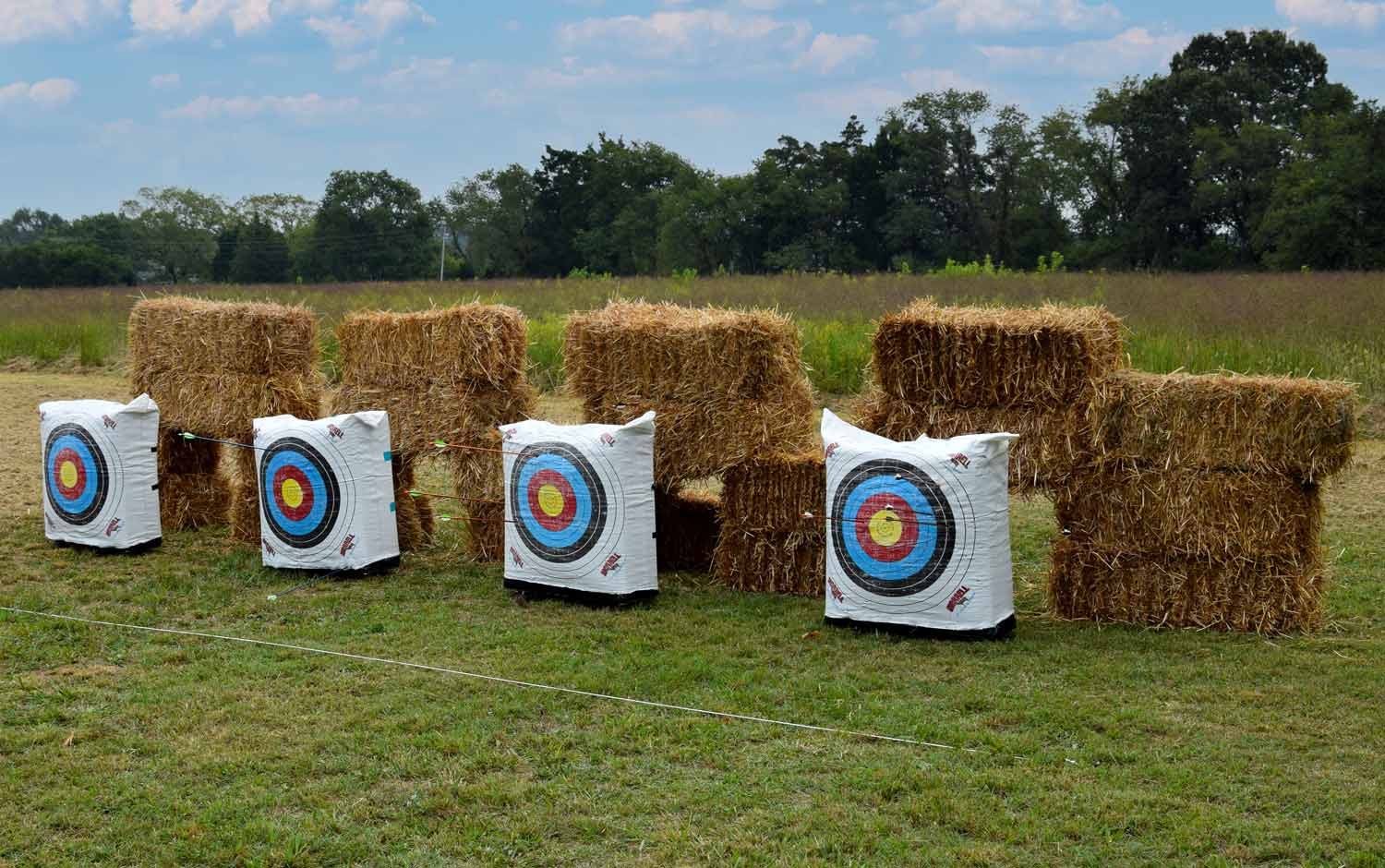 Girl Scouts—Archery Badge/ Cadettes